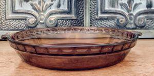 Vintage Pyrex Glass Cranberry Deep Dish Pie Plate for Sale in Boca Raton, FL