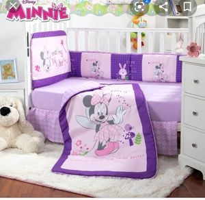 Minnie mouse baby girl crib set new in package for Sale in Claremont, CA