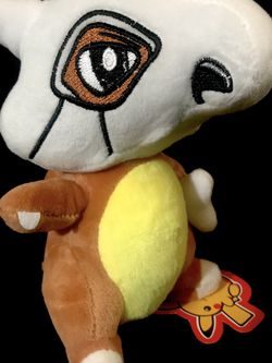 Pokémon cubone plush '7 inches tall for Sale in Monterey Park,  CA