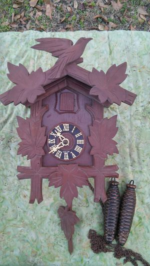 Cuckoo Clock*Antique Black Forest Germany for Sale in Gaston, SC