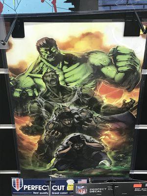 Incredible Hulk 11x17 wall art print for Sale in Colorado Springs, CO