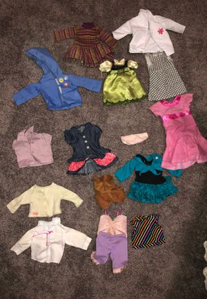 doll clothes for Sale in Arlington, WA