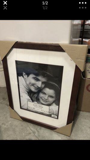 brand new never used picture frame with matte for Sale in Portland, OR