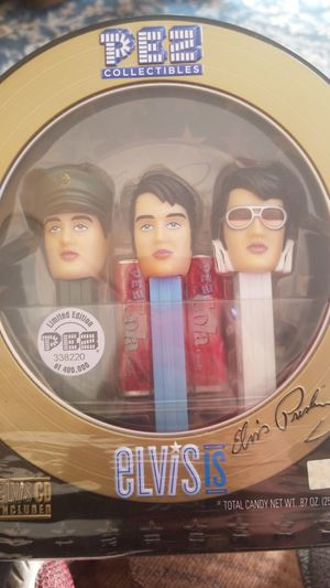 PEZ COLLECTION ELViS CD include for Sale in Fresno, CA