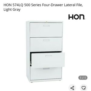 HON 500 Series 4-Drawer - Light Gray for Sale in Los Angeles, CA