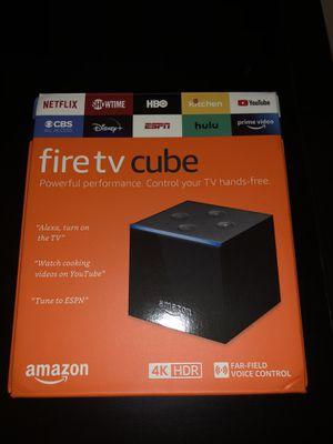 Amazon 4K fire tv cube for Sale in Midlothian, TX