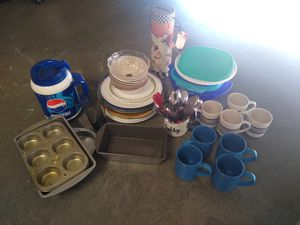 (USED) Assorted dishes $5 for all for Sale in Dinuba, CA