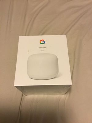 Google - Nest Wifi AC2200 Router - Snow for Sale in Los Angeles, CA