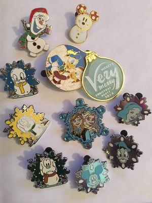 Disney pin winter bundle! for Sale in Warren, NJ