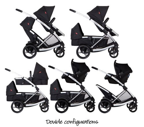 Phil&teds Double Stroller