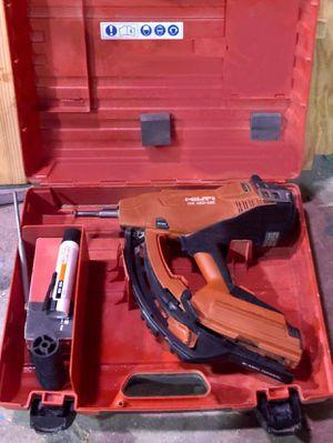 Hilti Gas-actuated Nail Gun for Sale in Austin, TX