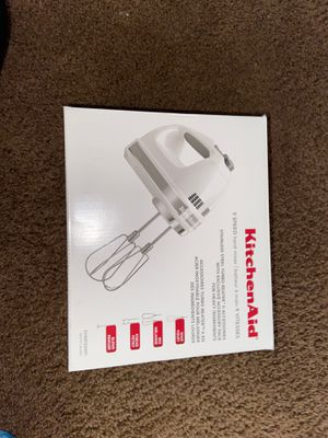 Kitchen aid hand mixer for Sale in San Jacinto, CA