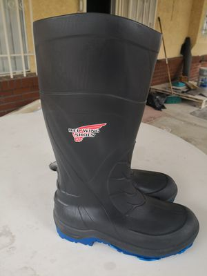 Brand new red wings work boots size 7 for Sale in Riverside, CA