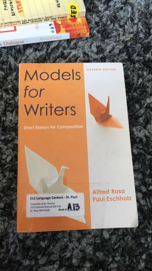 models for writers short essays for composition for Sale in Mendota Heights, MN