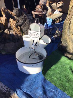 Metal water fountain for Sale in Norwalk, CA