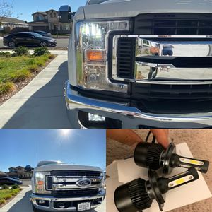 Car led headlights kit leds kits are super bright lights for Sale in Ontario, CA