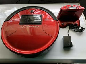 LIKE NEW BobSweep PetHair Robot Vacuum Red Roomba for Sale in Arlington, VA