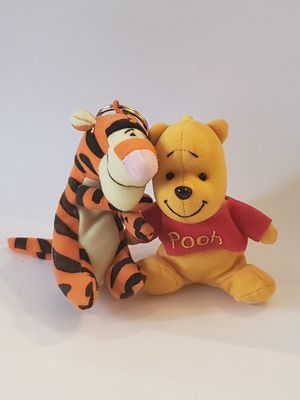 "Cute 5"" Disney tigger and winnie clip on for Sale in Plainville, CT"