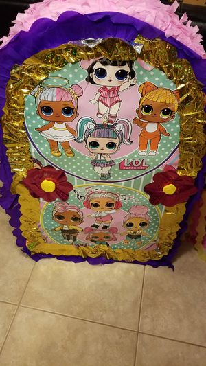 Lol surprise dolls BOX pinata for Sale in National City, CA