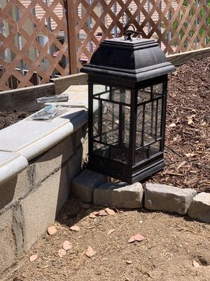 Metal outdoor Lanterns-Set of 2 for Sale in Corona, CA