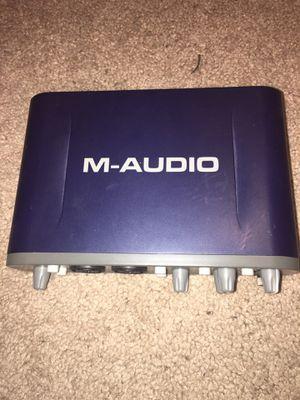M-Audio Fast Track Pro for Sale in Tacoma, WA