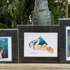 Mermaid Prints (3) for Sale in West Palm Beach, FL