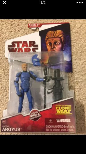 Star Wars Captain Argyus Action Figure for Sale in Selma, TX