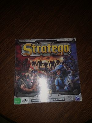 Stratego board game, lightly used, good condition, all pieces included for Sale in Bowie, MD