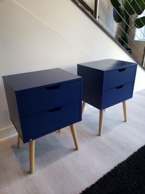 End Tables/ Nightstand with Storage Drawers for Sale in Atlanta, GA
