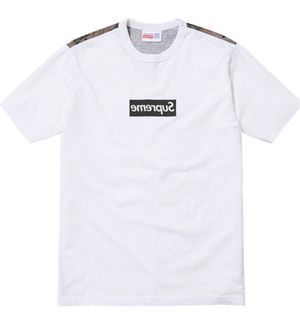 SUPREME BOX LOGO COMME DES GARÇON Pt. 2 DIGITAL T-SHIRT Sz MEDIUM for Sale in Chicago, IL