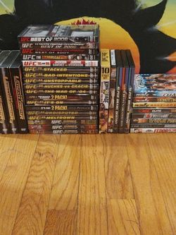 UFC Fighter DVD's And More for Sale in Bolton,  CT
