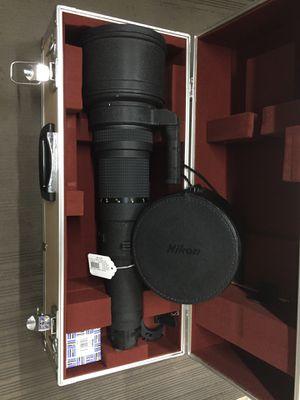 Nikon Nikkor 800mm AI-S ED IF f:5.6 super telephoto lens for Sale in Rockville, MD