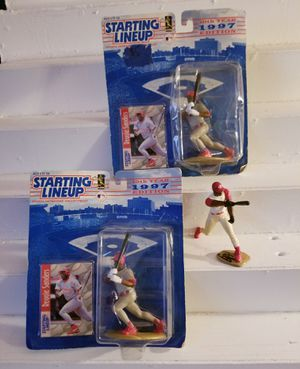 Reggie Sanders Starting Lineup MLB SLU 1997 Action Figure & Card Cincinnati Reds for Sale in Avondale, AZ
