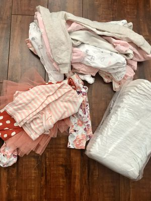 Newborn baby girl bundle for Sale in Downey, CA