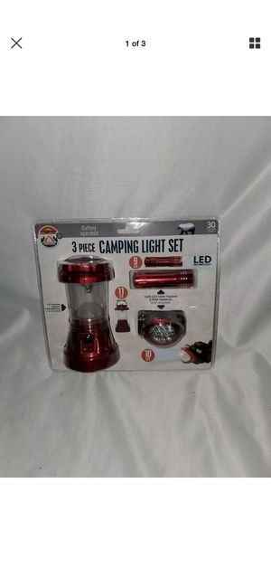 LED camping light set for Sale in Walkertown, NC