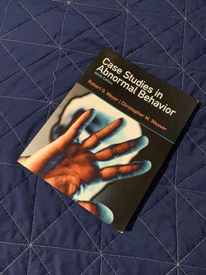 CASE STUDIES IN ABNORMAL BEHAVIOR 9TH EDITION for Sale in Whittier, CA