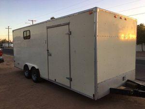 Braco 20 ft enclosed trailer for Sale in Buckeye, AZ