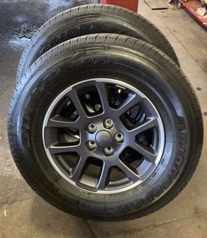 2019 Gladiator Wheels/Bridgestone Dueler Tires for Sale in Rutledge, PA