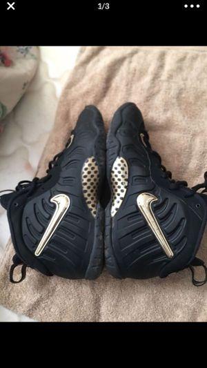 Size 7 gold Nike foams for Sale in Buffalo, NY