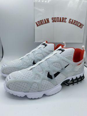 Nike Air Kukini Spiridon Cage 2 Stussy White sz 12 for Sale in Brooklyn, NY