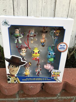 DISNEY PIXAR TOY STORY CHRISTMAS ORNAMENTS for Sale in Carson, CA