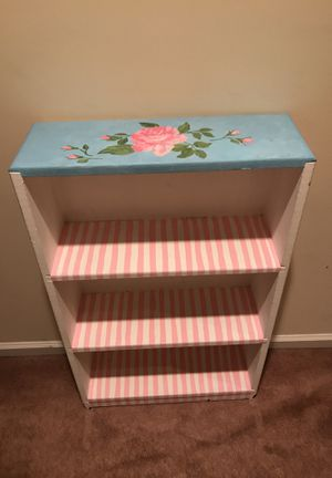 Beautiful Handpainted shelving for Sale in Silver Spring, MD