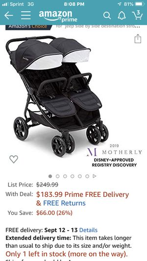 Jeep double stroller for Sale in Lancaster, OH