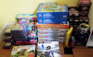 Toys bundle my little pony, VR, star war dolls, paw patrol, sunny day for Sale in San Antonio, TX