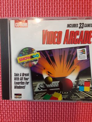 VIDEO ARCADE 33 GAMES CD-ROM for Sale in Lehigh Acres, FL