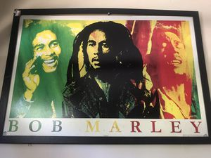 Bob Marley frame poster for Sale in Mission Viejo, CA
