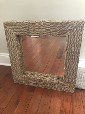 Square mirror for wall decor for Sale in Union, NJ