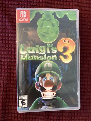 Luigi's Mansion 3 (Switch) for Sale in Tempe, AZ