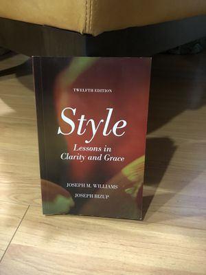 Style: Lessons in Clarity and Grace (12th Edition) for Sale in Cerritos, CA