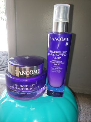 LANCOME RENERGIE SET $90 for Sale in Ontario, CA